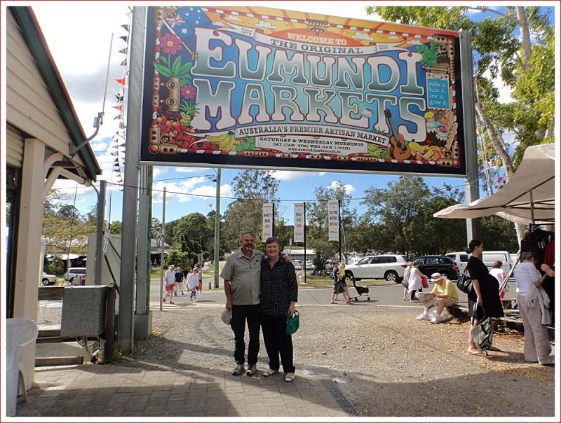 Shorty and Ann at Eumundi Market