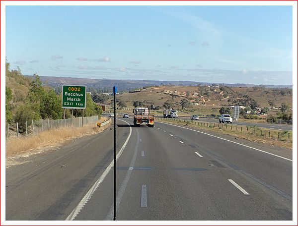 On the Western Highway - Very Dry