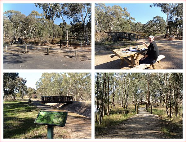 Beautiful place to stop for picnic lunch on the outskirts of Stawell.