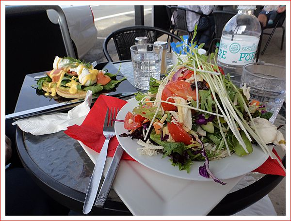 Lunch at Olivia-Rose Cafe