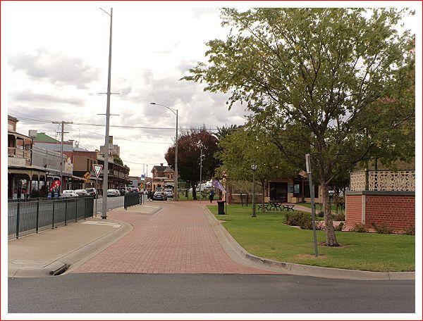 Main street Nhill
