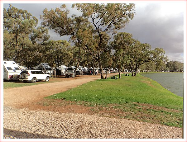 AVAN Convention - an impressive sight lined up along the river.