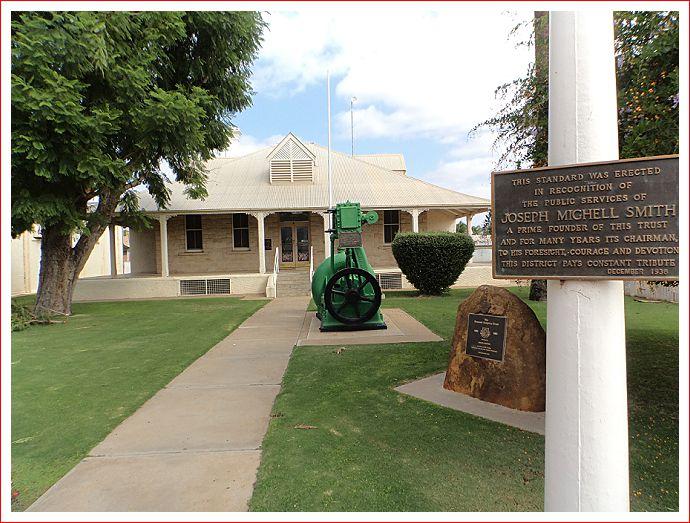 Historic Irrigation House.