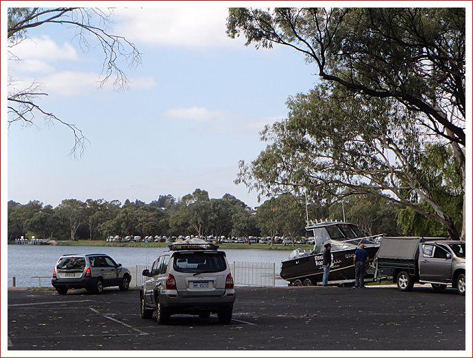 Boat ramp near Big 4.