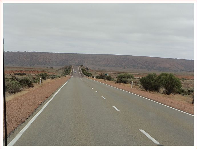 On the road from Port Augusta to Whyalla.