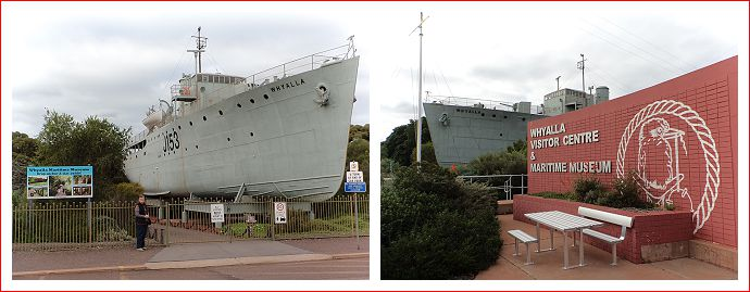 Whyalla Visitor Centre & Maritime Museum.
