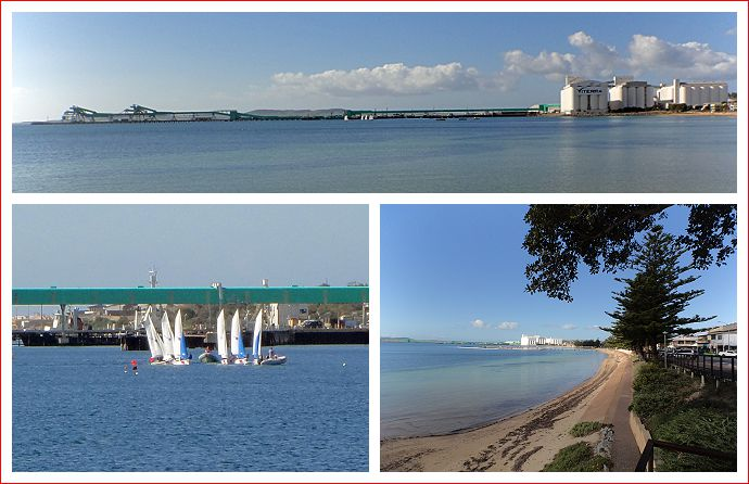 Views of Boston Bay, Port Lincoln.