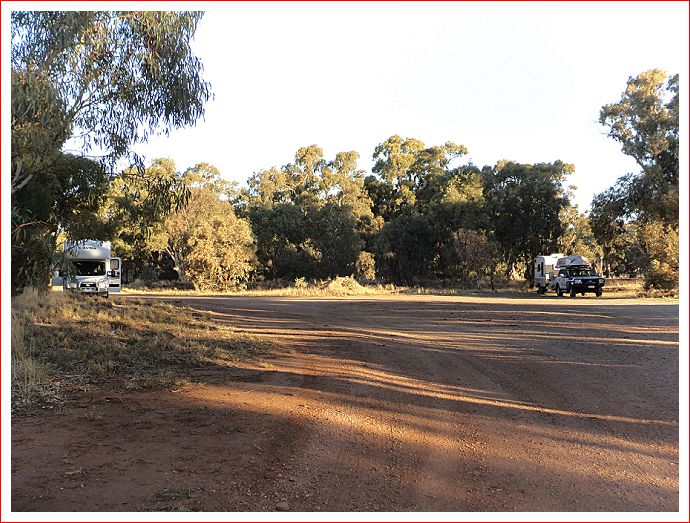 Free Camp at Goyder Line Memorial rest area, 3 kms from Melrose.
