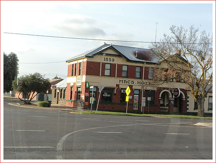 One of the pubs in Mortlake.