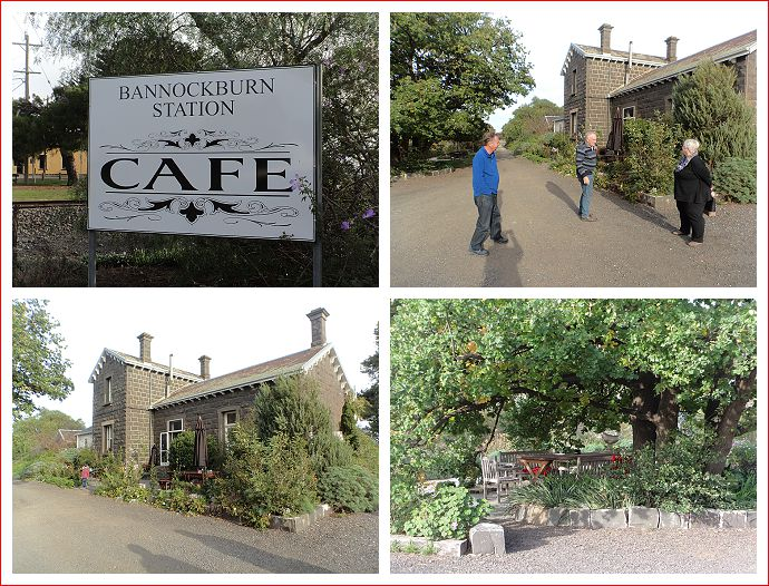 Bannockburn Station Cafe.