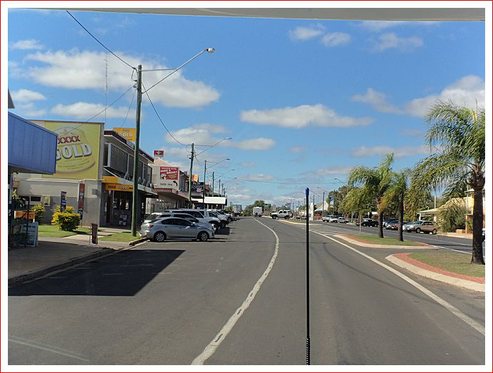Main street in Miles