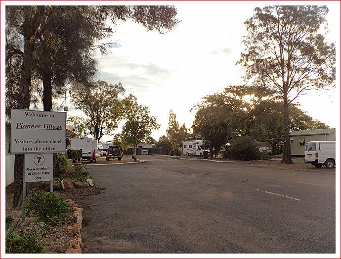 Pioneer Village caravan park
