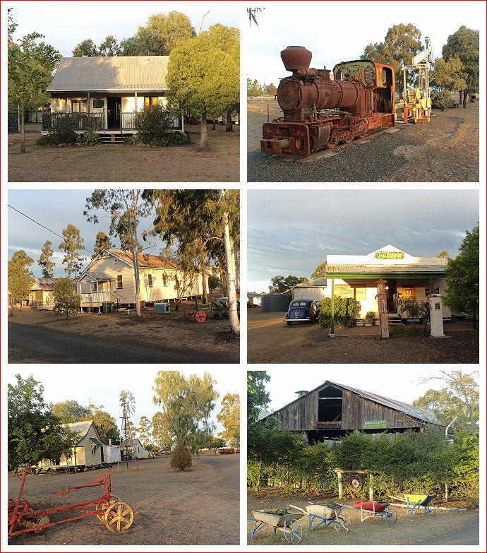 Scenes of Pioneer Park Museum