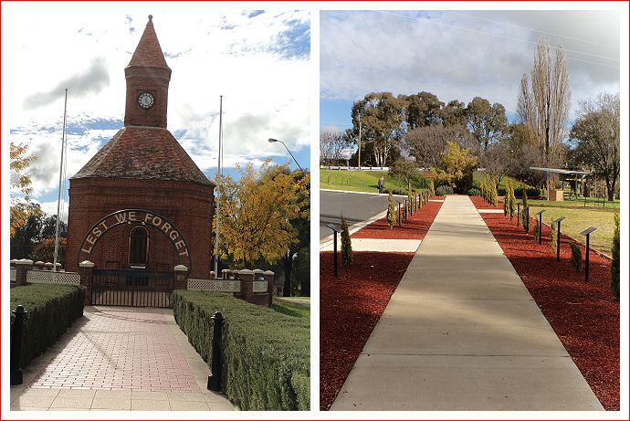 ANZAC memorial and Lone Pine walk