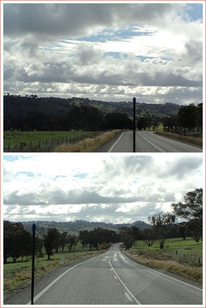 On the way from Boorowa