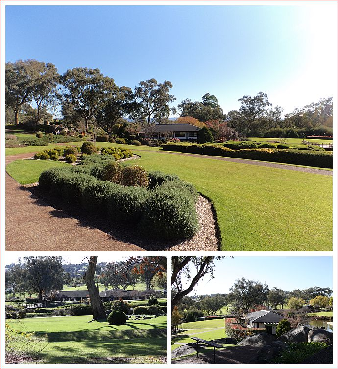 Views of Cowra Japanese Gardens