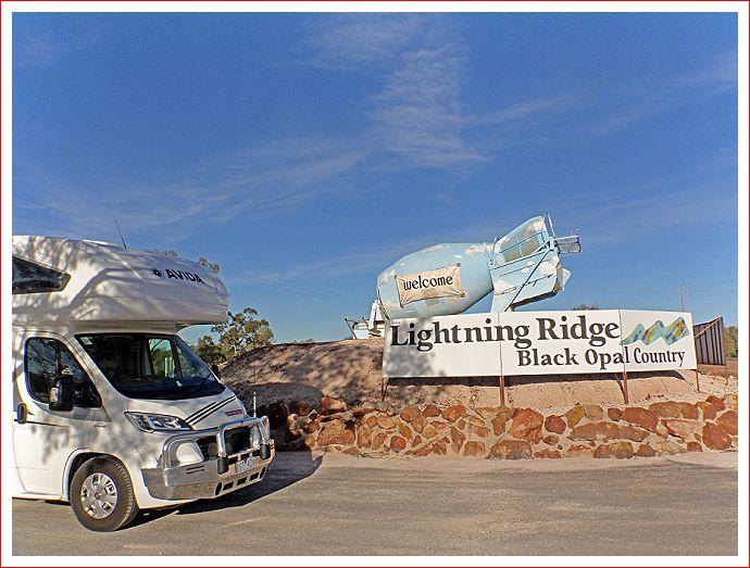 Bertha at Lightning Ridge