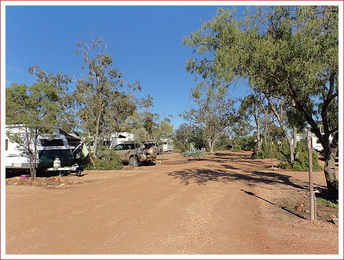 Beautiful day at Lightning Ridge Outback Resort