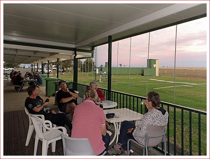 Happy Hour at Roma Clay Target Club (Gun Club)