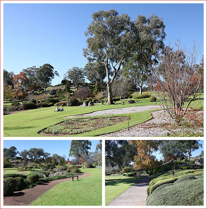 Views of the Cowra Japanese Gardens
