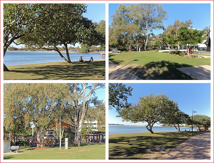 Views along the esplanade at Cotton Tree Maroochydore