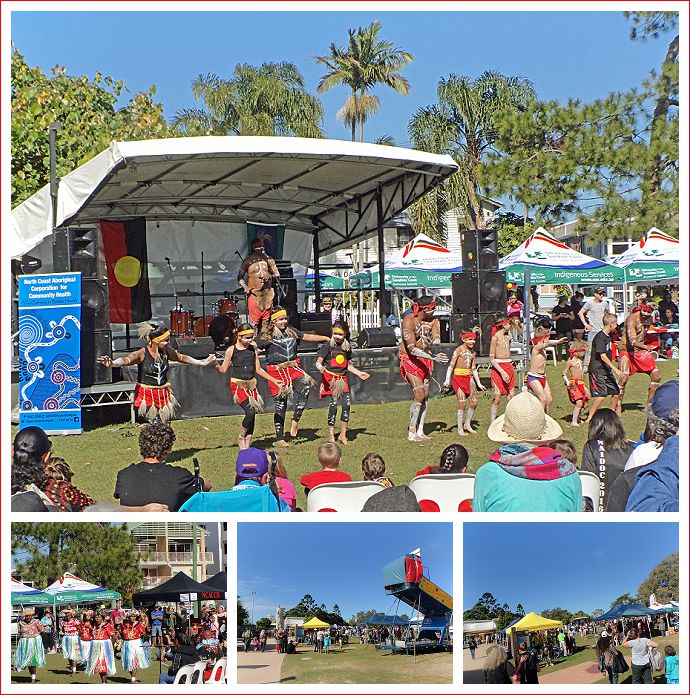 NAIDOC festival at Cotton Tree