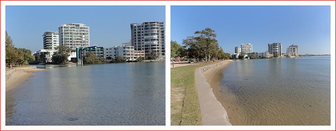Views along Maroochy River