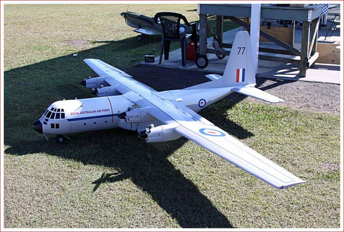 4 engined RAAF plane