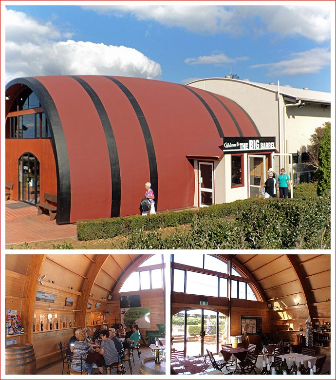 The Big Barrel - home of Maleny Mountain Wines and MacLeod Brewing Company