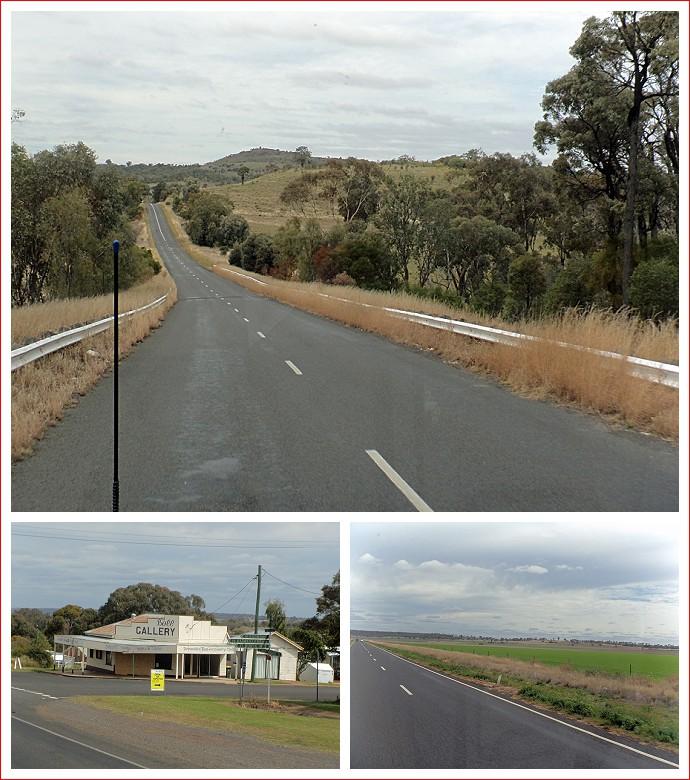 Scenes along Bunya Highway