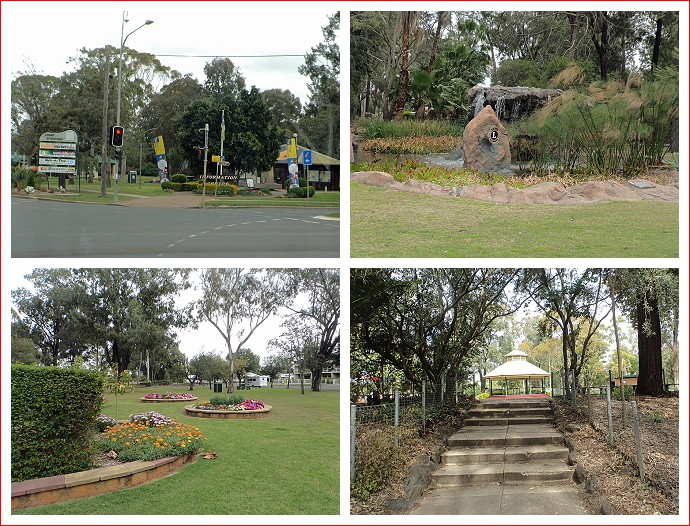 Views of Thomas Jack Memorial Park, Dalby