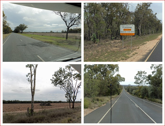 Views along Moonie Highway