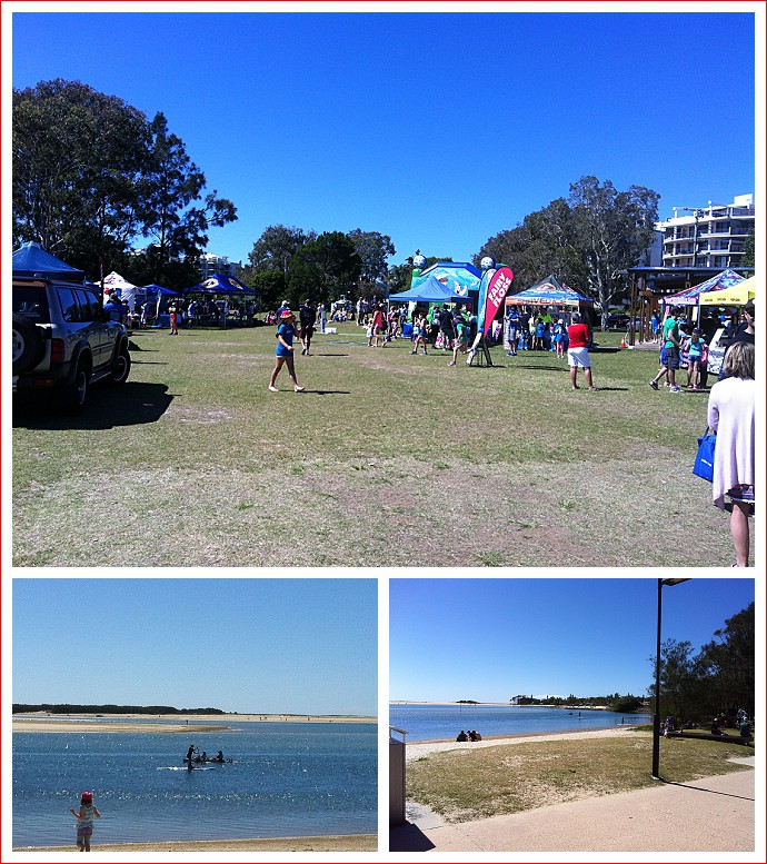 Fun in the park at Cotton Tree