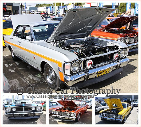 Ford Muscle Cars at the Performance Car Show