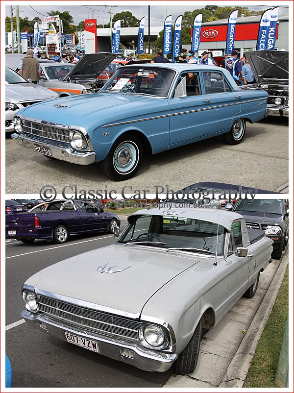 1965 Ford Falcons at the Performance Car Show