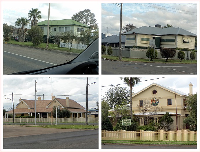 Buildings around Narrabri