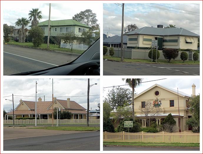 Buildings around Narrabri