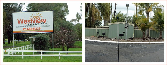 Westview Caravan Park in Dubbo