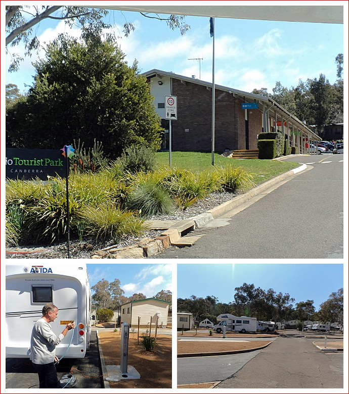 Alivio Tourist Park in Canberra