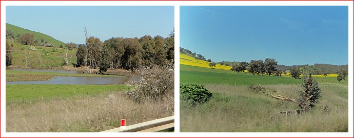Scenes along the Hume Highway